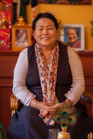 Resultado de imagen de Sangyum Kamala rinpoche